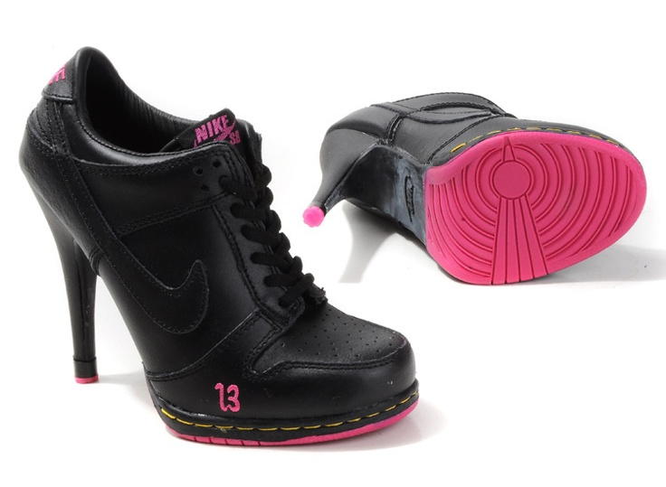 buy womens nike dunk high heels low shoes black pink cheap to buy from reliable womens nike dunk hig
