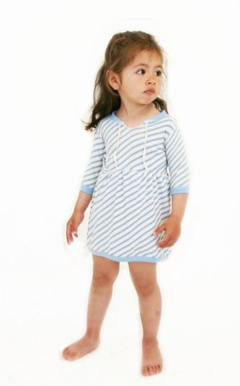 Rip Dress Azzurro - Pop Up Shop, € 38.0 by Mirtilla (tutti i colori  1)