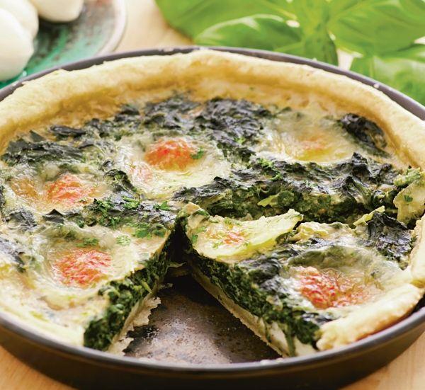 Tartă cu spanac - Retete culinare - Romanesti si din Bucataria internationala