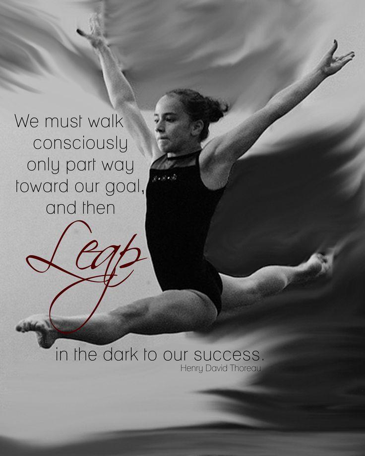 Best 25+ Inspirational Gymnastics Quotes Ideas On Pinterest