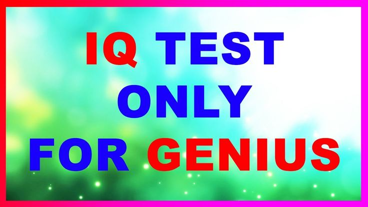 Hello! This is BorediQ. In this videos, there some metal IQ tests that let you test how smart you are. These IQ questions are not very easy but there are some options for you to choose. Count your points and you will see the result in the last minute of t