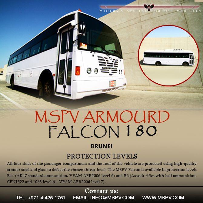 Armoured Passenger Bus BRUNEI Falcon 180 | Armoured Vehicles