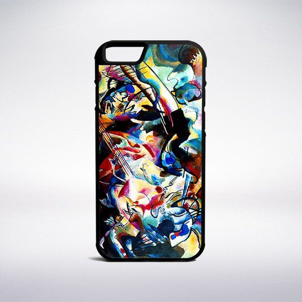 Wassily Kandinsky - Composition VI Phone Case – Muse Phone Cases