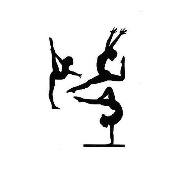 Gymnastics Die Cuts Gymnast die cuts by PiecesOfMePaperCraft, $4.00