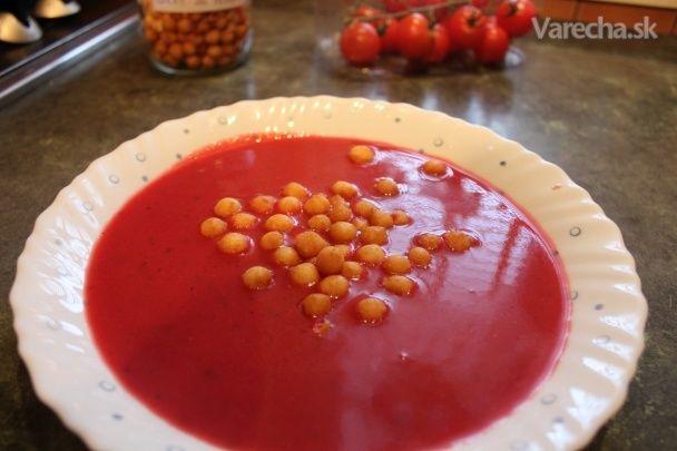 Krémová cviklová polievka - Recept