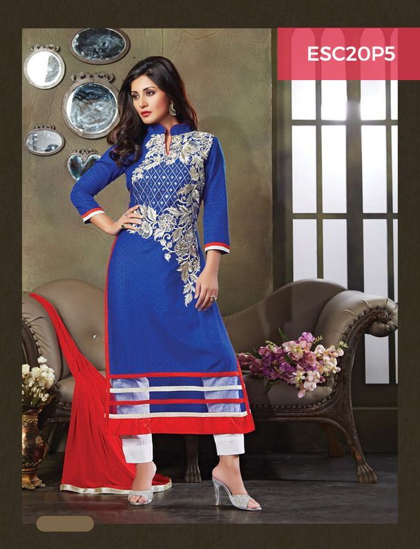 Monday Dhamaka Deal!! Ultimate Rimi Sen Blue Red Cotton Suit for just Rs 1399/- Shop now @ http://www.enasasta.com/deal/rimi-sen-blue-red-suit Call or Whatsapp @08288886065  Cash on Delivery at available (Rs99 extra) || Shipping Free
