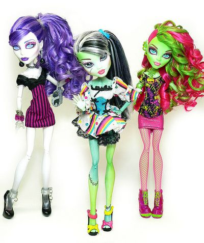 Monster high Spectra Venus and Frankiestein
