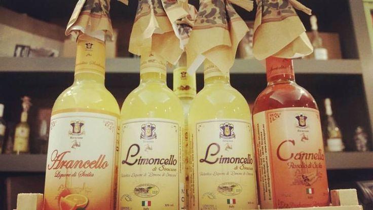 Choose your favourite flavor: Almond, Orange, Lemon or Cinnamon and taste one of our special and traditional Sicilian Liqueurs! Arancello, Limoncello, Mandorlè and Cannellino! #liqueur #lemon #orange #cinnamon #Almond #arancello #limoncello #cannella #limone #arancia #liquore #digestivo #digestive #sicily #sicilia #tradition #drink