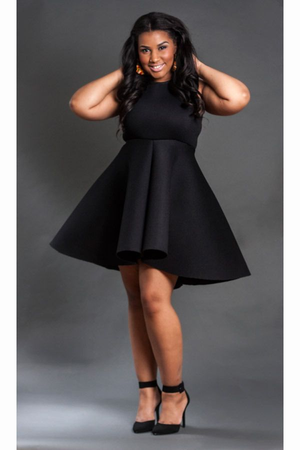 Add some tights and a light jacket/cardigan and this is perfect for fall-TMC~~ Nakimuli Curvy