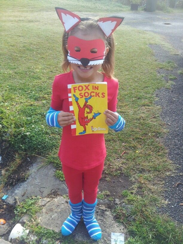 Fox In Socks costume for Book Week :)