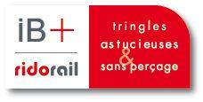 Tringle sans percer ib+ caisson de volet roulant