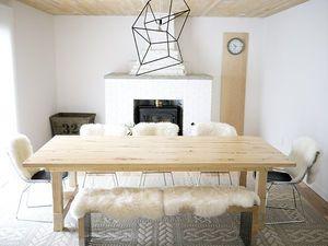 ダイニングテーブルのDIY作品集(作り方 天板 脚 鉄 スチール 図面 設計図 リメイク - NAVER まとめ
