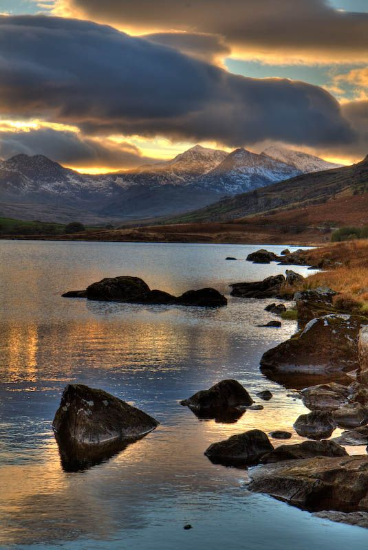 Snowdonia, North Wales  (Image from Bethan Wyn Williams on Pinterest)
