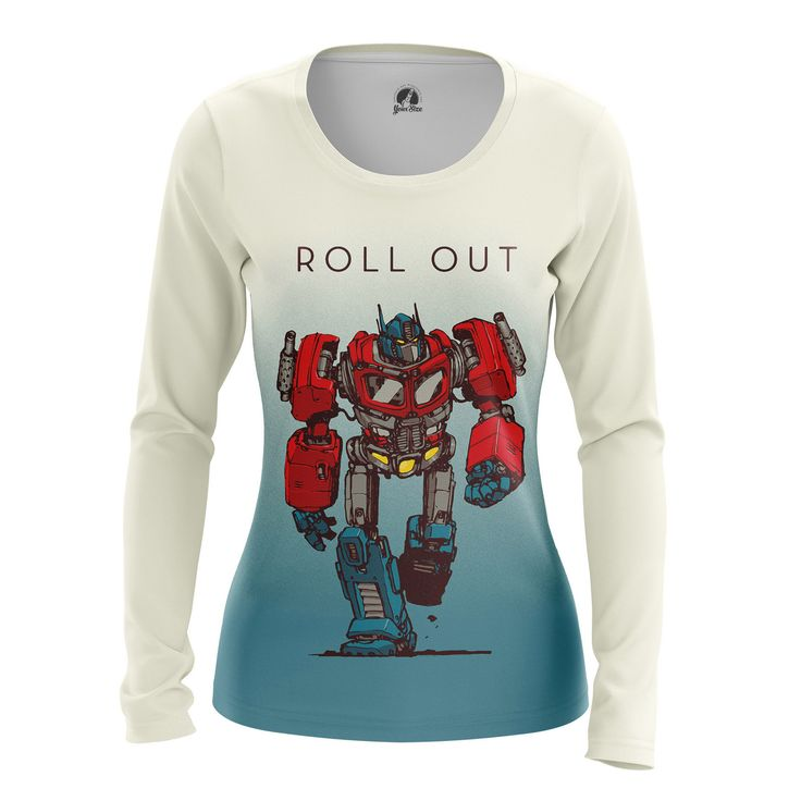 cool Girls Longsleeve Roll Out Transformers Merchandise Gifts