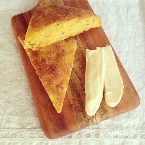 Briciole: Pumpkin and cheese focaccia