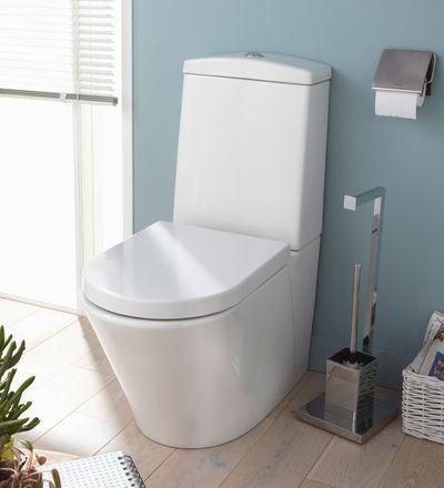 17 best ideas about deco wc on pinterest d co toilettes rangement papier toilette and toilette - Deco toilettes taupe ...