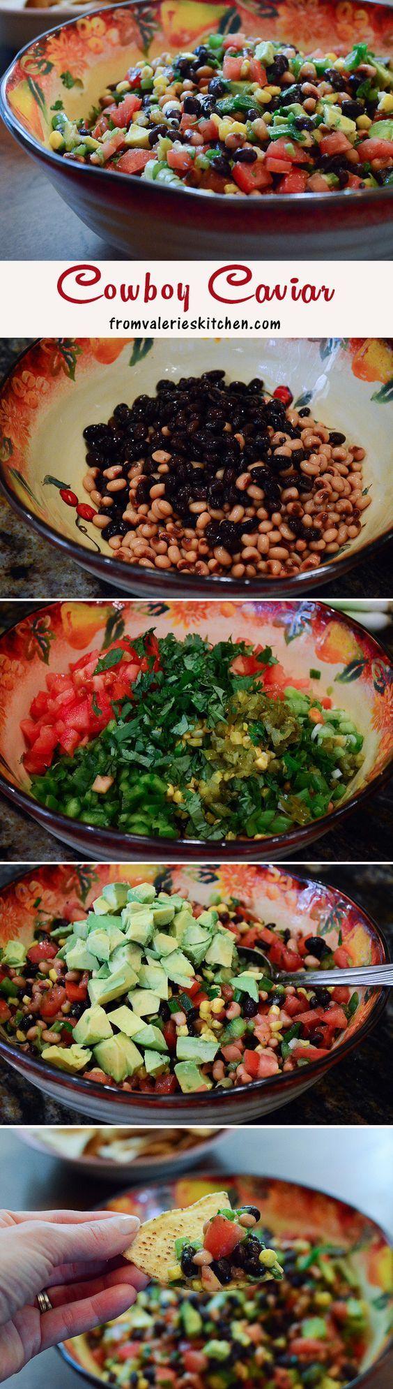 Cowboy Caviar - a fresh, healthy, DELICIOUS appetizer