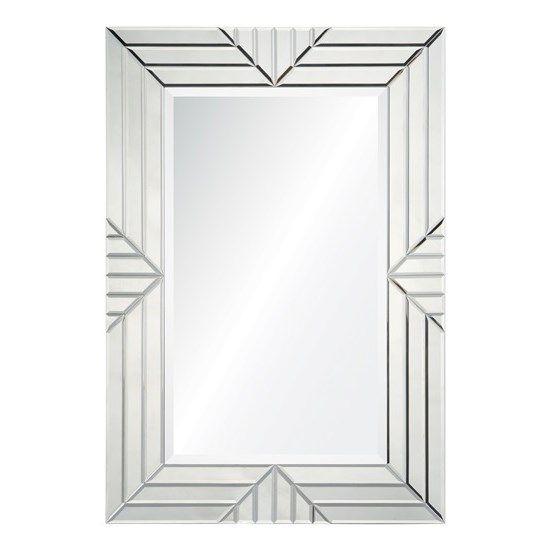 Cooper Classics 41042 Emeric Frameless Mirror in Clear