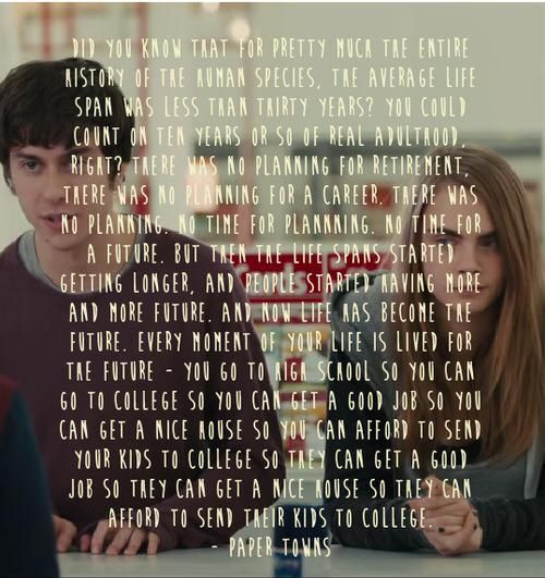 Paper towns characters list