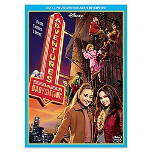 Adventures in Babysitting DVD | Disney Store Sofia Carson (<i>Descendants</i>) and Sabrina Carpenter (<i>Girl Meets World</i>) star in this hilarious, action-packed tale of two sitters inspired by the 1987 original directed by Chris Columbus.