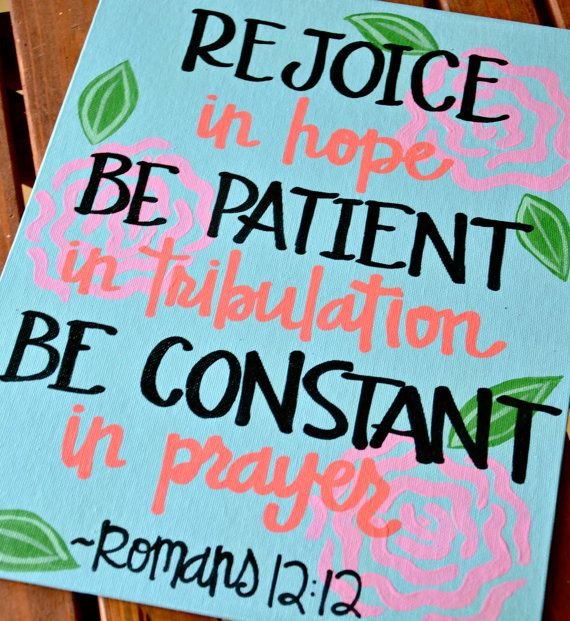 Custom Scripture or Quote Painting 16X20 Canvas by graceelliott10