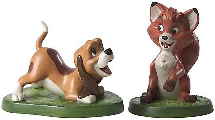 The Fox and the Hound - Copper and Tod - 25th Anniversary - Walt Disney Classics Collection - World-Wide-Art.com - $175.00 #WDCC #Disney
