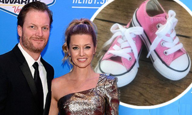 Dale Earnhardt Jr. and his wife Amy are expecting their first child