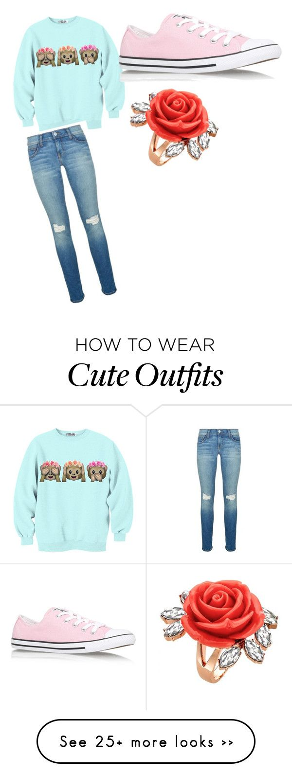 """Cute school outfit"" by jordyjor27 on Polyvore featuring Rebecca Minkoff, Converse and Mawi"