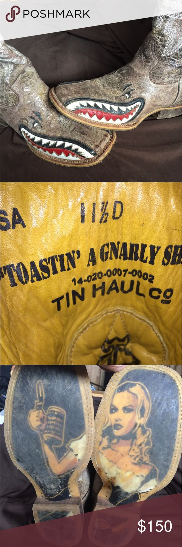 Tin Haul boots Tin Haul boots. Worn 5 times tin haul Shoes Boots