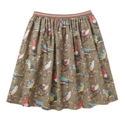 Cath Kidston Garden Birds Skirt