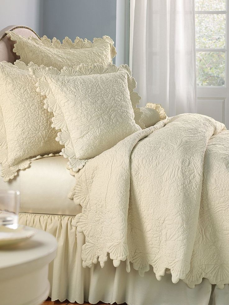 Coquillage De La Mer Quilt Collection | linensource | Home ...