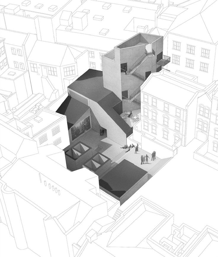 Really nice way of graphically illustrating the site in its surroundings