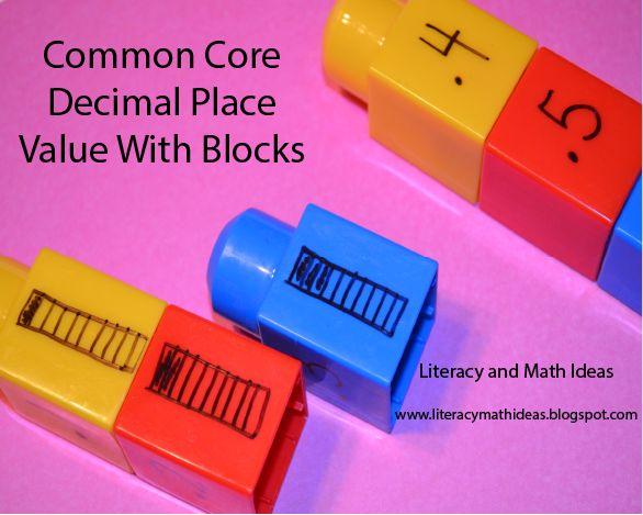 Decimal number order with blocks