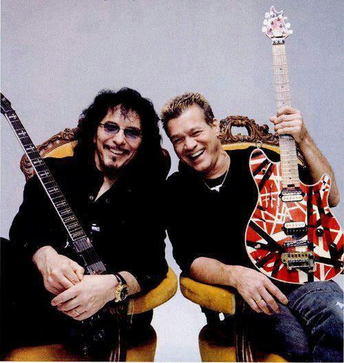Tony Iomi, Eddie Van Halen