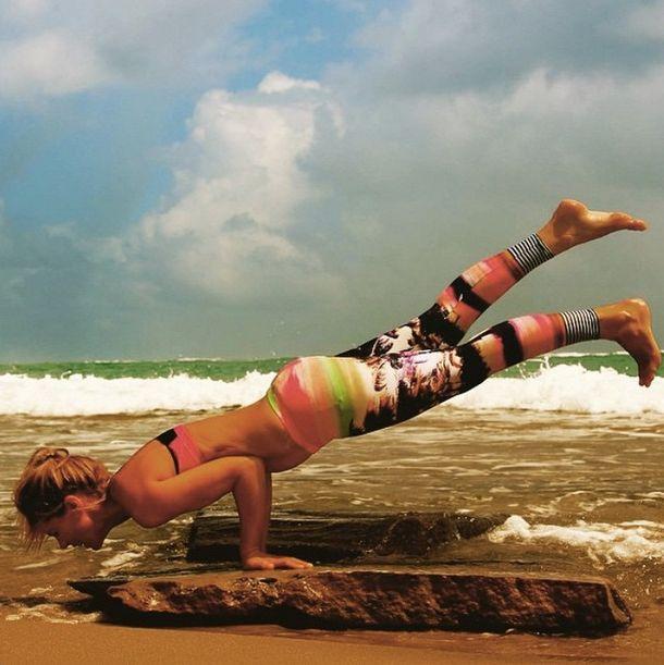 Yoga at the beach - Good Balance Lifestyle