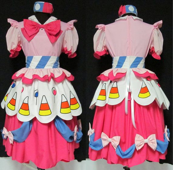 Hey, I found this really awesome Etsy listing at https://www.etsy.com/listing/102698097/my-little-pony-pinkie-pie-cosplay