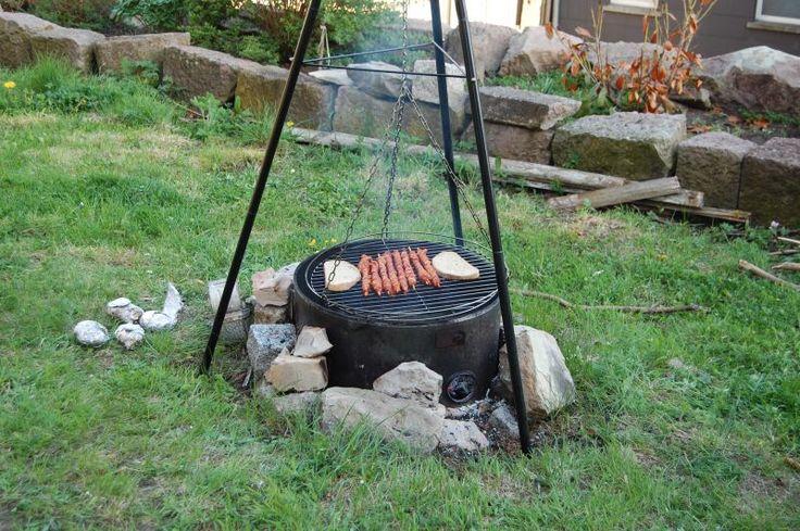 BBQ in de tuin