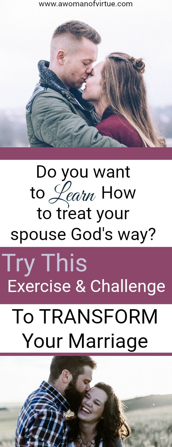 Are you a spouse who looks for every opportunity to better your marriage? Then grab your spouse and assess how you treat one another with this interactive exercise/challenge...