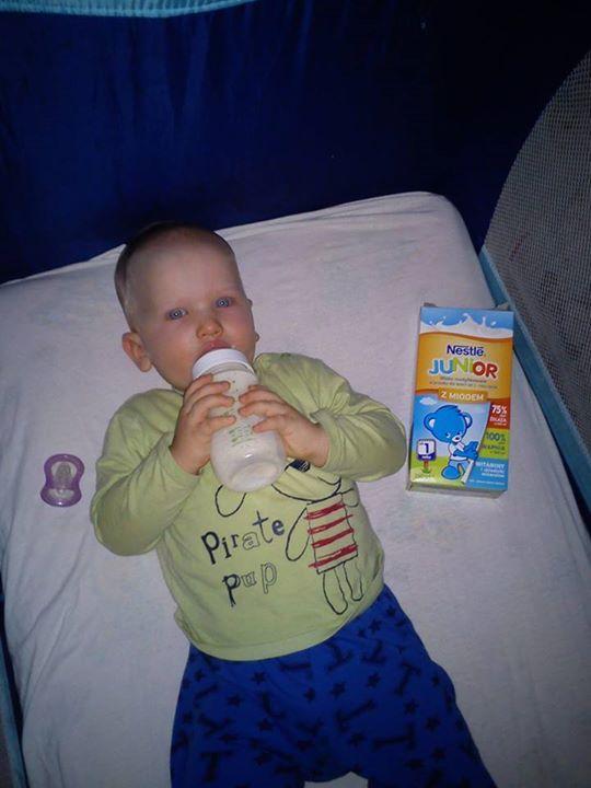 wieczorna porcja mleka #NestleJunior #pysznesmaki #miód #wanilia