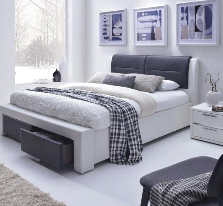 CASSANDRA S Łóżko 2-osobowe