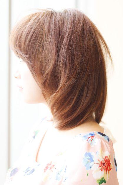 カットで作るナチュラルなショートカットです♪  横の丸みと下が引き締まるようにカットしています!  カラーは人気のメルティカラー\(^o^)/髪をツヤツヤにしてくれるヘアカラーです(*´∀`*)  クセ等のお悩みがある方は是非ご相談ください!  髪質の問題を解決致します。  AFLOAT JAPAN菅谷がお待ちしております。☆当日のご予約はお電話かブログから☆  AFLOAT JAPAN 03-5524-0701  ブログにはスタイリング方法、キャンペーン情報が掲載中♪菅谷昌央でGoogle検索♪