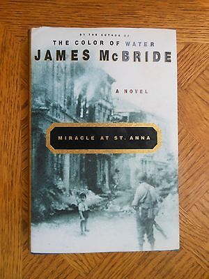 MIRACLE AT ST ANNA by James McBride (2002, Hardcover) - http://books.goshoppins.com/literature-fiction/miracle-at-st-anna-by-james-mcbride-2002-hardcover/