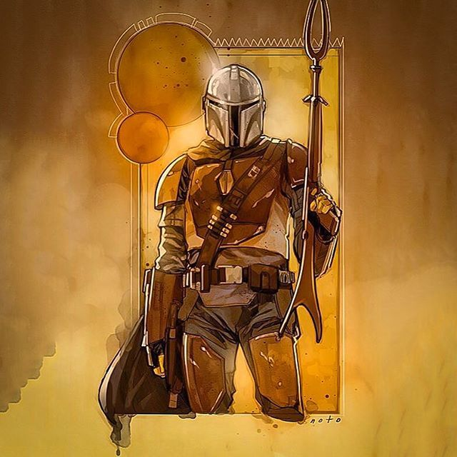 The Mandalorian Star Wars Tv Series Concept Art By Phil Noto The Series Will Be Written And Executive Produced Star Wars Art Star Wars Poster Star Wars Images