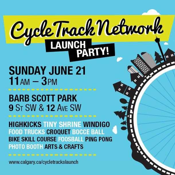 Cycle Track Network Launch Party!