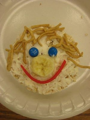 All About Me cooking activity. Great for preschoolers.