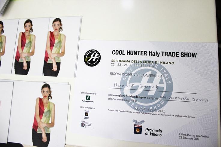 HanselGretel- Best Fashion Designer for Women's Apparel @ Cool Hunter Trade Show Milan