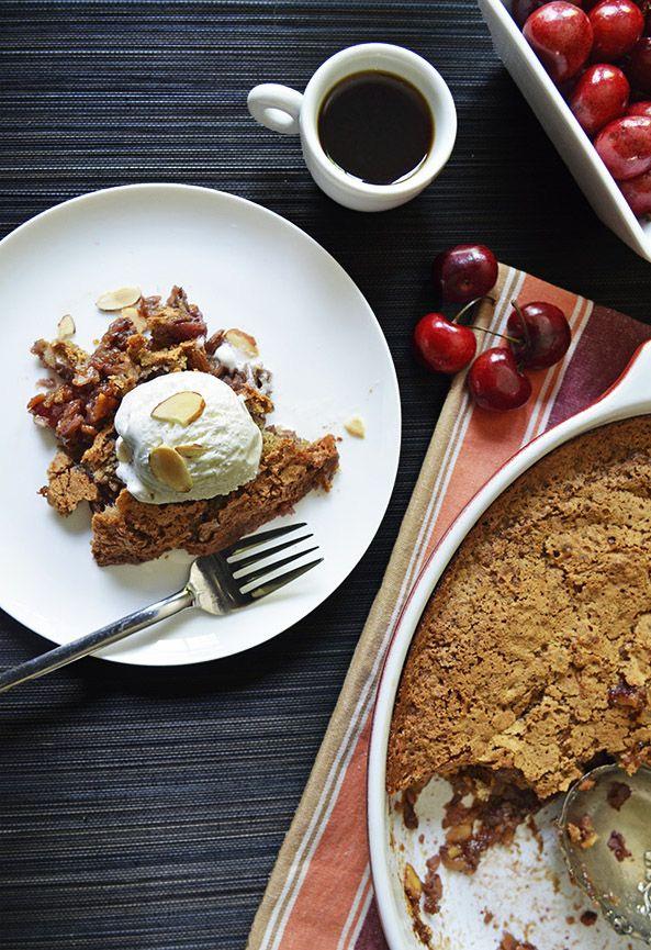 Huguenot Torte with Cherries | Recipe | Cherries and Torte