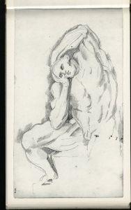 Cézanne L'Écorché, d'après Michel-Ange 79-82 ou c80 CII 19R