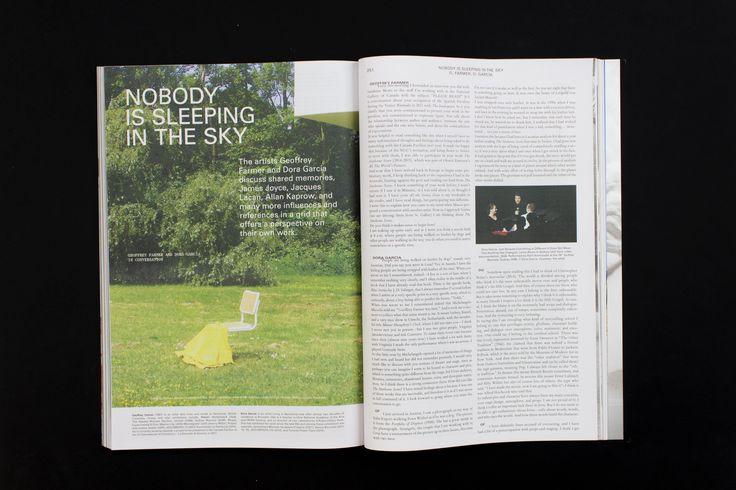 Mousse Magazine 54 ~ #geoffreyfarmer #doragarcia #performance #moussemagazine #contemporaryart #art #magazine