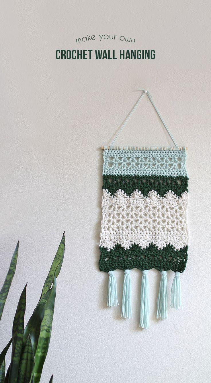 best crochet wall hangings ideas on pinterest  wall hangings  - crochet wall hanging pattern